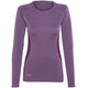 Bergans Snoull Shirt Lady Dusty Plum/Plum/Koi Orange